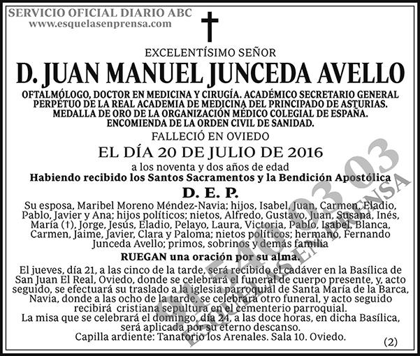 Juan Manuel Junceda Avello